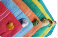 Towels with border