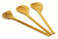 Teak Utensils Heliconia set of 3