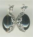 Angel Flower silver Earring