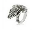 Animal marcasite ring