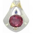 Pink Turmaline pendant