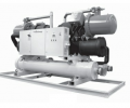 Package water cooled  chillers - screw type