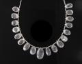 Briolette beads dor necklace