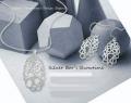 Elegant Simply Geometric Silver Jewelry