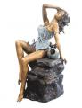 Bronze Fountain Girls