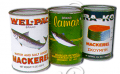 Mackerel in Natural Oil, Tomato Sauce (Tall Tin)