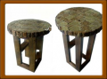 Rustic Modern Round Table