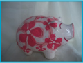 Pig in a flowered