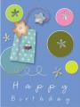A birthday card 24TBH804