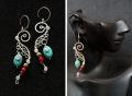 Earrings se0001 - Small Seahorses