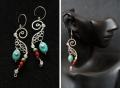 Earrings se0001 - Small Seahorses