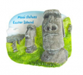 Worldwide souvenir magnets Stones Moai (Easter Island)