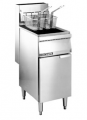 Floor Model Gas Fryers - 40 lbs Model: FMS40