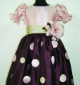Dress with polka dot