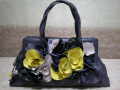 Handbag Multi-Color Flowery 02