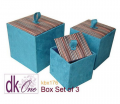 Silk Box Set of 3 by Dokkhem