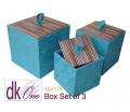 Silk Box Set of 3 by Dokkhem