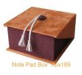 Note Pad Box by Dokkhem