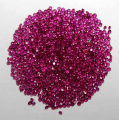 Round Diamond Cut Ruby