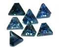 Natural Sapphire Facet Lot Trapezoid
