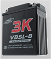 Motorcycle VRLA battery