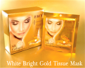 White Bright Gold Tissue Mask
