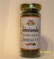 Chili powder black sesame soup