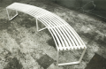 Museum 4-Seat Bench (Concave)