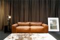 Leather couche Mcnamara