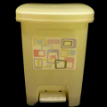 PP Step-Open Trash Can