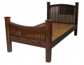 Original wood bed