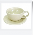 Round Cappucino Cup & Saucer