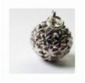 Kate Pendant silver flower ball