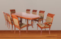 Dining Set 8 Seats U109-I