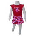 Babies' Shirt and Skirt Set