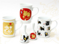 Some East Asian Zodiac cups