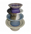 Round Tray with Pedestal