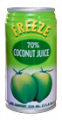 Cocount juice with cocount meat