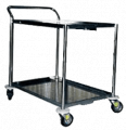 Stainless Trolley 2 Shelves UC-065