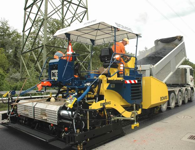 Rent asphalt machines