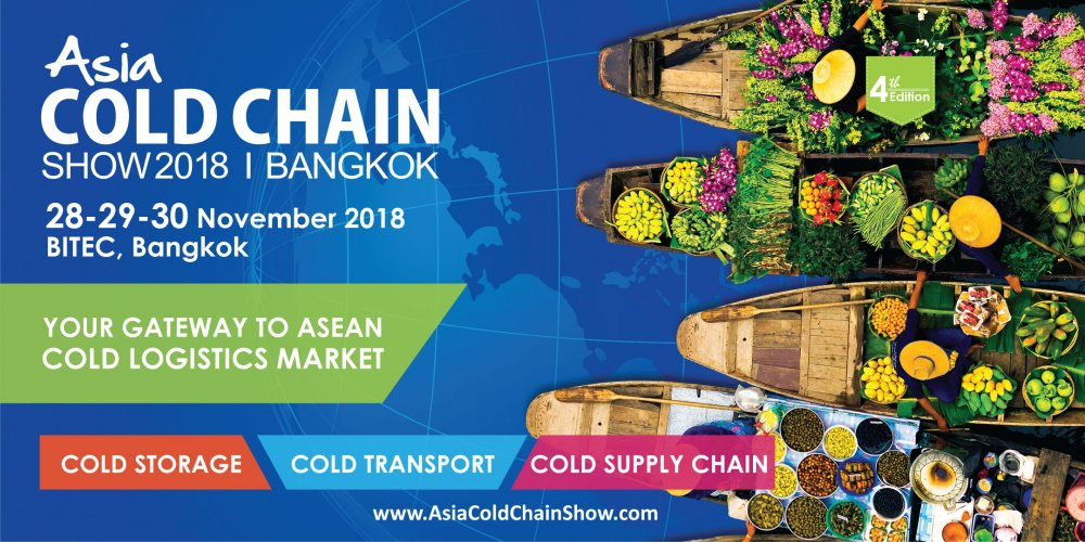 Order Asia Cold Chain Show 2018