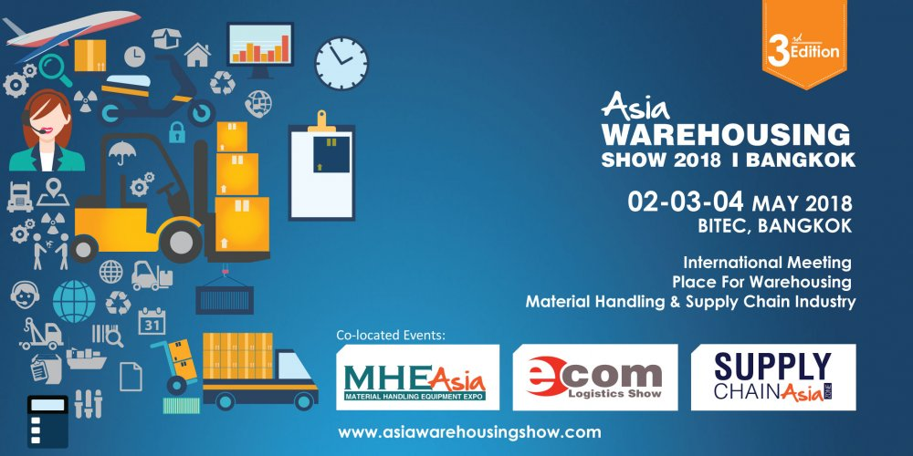 Order Asia Warehousing Show 2018