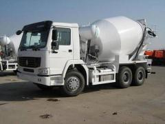 Rental truck mixers